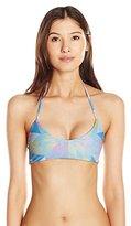 Mara Hoffman Women's Fractals Basket-Weave Bikini Top
