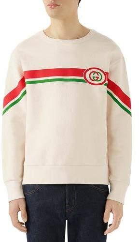 4bdbfaf151a Gucci Men s Sweatshirts - ShopStyle