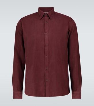 Sunspel Fine corduroy shirt