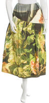 Simone Rocha Embellished Printed Skirt w/ Tags