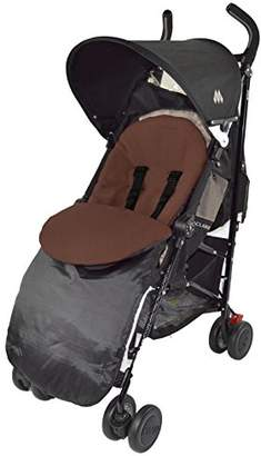 Maclaren Footmuff/Cosy Toes Compatible with XT Techno Quest XLR Volo Brown