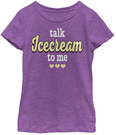 Fifth Sun Purple Berry 'Talk Ice Cream to Me' Tee - Toddler & Girls