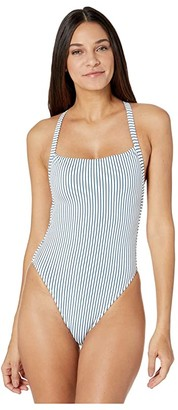 Body Glove Simply Me Electra One-Piece Swimsuit (Prussian) Women's Swimsuits One Piece