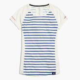 New Balance for J.Crew striped cooling T-shirt