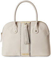 Kenneth Cole Reaction Pale Wheat Norway Dome Satchel