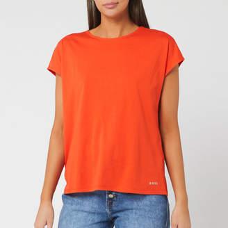 HUGO BOSS Women's Tesarah Short Sleeve Top