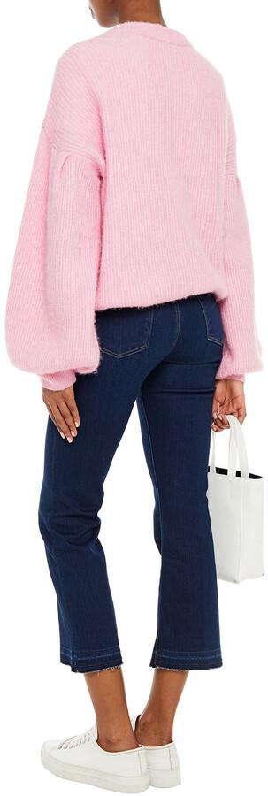 Thumbnail for your product : J Brand Selena Mid-rise Kick-flare Jeans
