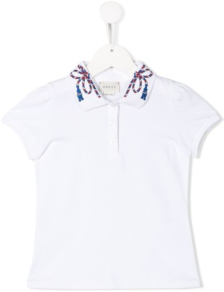 Gucci Kids Rope Polo Shirt
