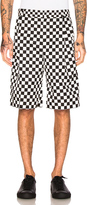 Givenchy Checkerboard Print Shorts
