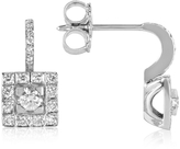 Forzieri 0.48 ctw Diamond 18K White Gold Earrings