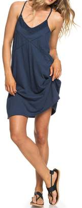 Roxy New Lease of Life Cotton Beach Dress with Embroidery