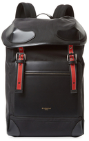 Givenchy Buckle Cotton Backpack