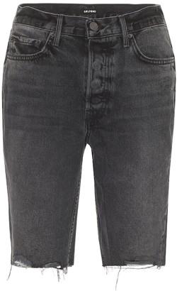 GRLFRND Beverly high-rise denim shorts