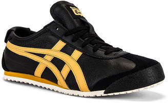 Onitsuka Tiger by Asics Mexico 66 in Black & Honey | FWRD