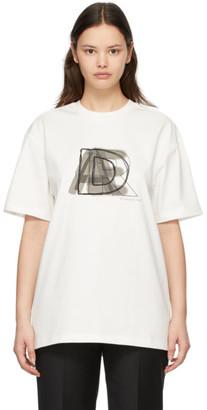Ader Error White AE Logo T-Shirt