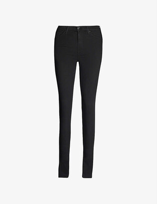 7 For All Mankind Illusion luxe skinny high-rise jeans