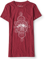 Aeropostale Free State Lotus Blossom Graphic T***