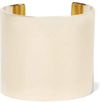 Jennifer Fisher Xl Stripe Gold-plated Cuff - one size