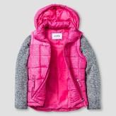 Stevies Girls' Bubble Vest w/Sweater Fleece