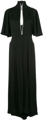 Ellery Mae key-hole maxi dress