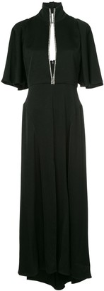 Ellery Mae key-hole maxi dress