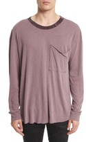 Drifter Men's Tide Long Sleeve Pocket T-Shirt