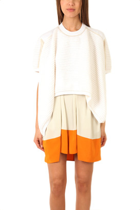 3.1 Phillip Lim Asymmetrical Short Sleeve Pullover