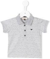 Armani Junior classic polo shirt - kids - Cotton - 9 mth
