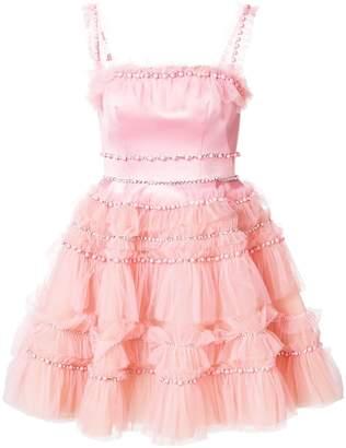Viktor&Rolf Soir Embellished Tulle Ruffle Dress