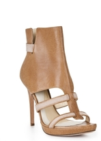 Herve Leger Dilys Leather Bootie