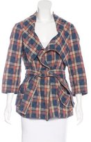 Vivienne Westwood Textured Plaid Jacket