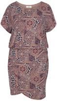 Zizzi Draped Jersey Dress