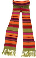 Catimini Girls' Striped Scarf w/ Tags