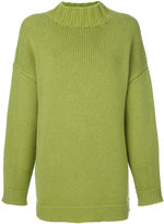 Alexander McQueen high neck jumper - women - Cashmere - XS