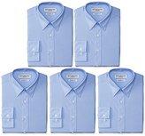 Nick Graham Everywhere Men's 5 Pack Modern Fit Dress Shirt