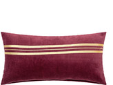 Red/Gold Stripe Cushion