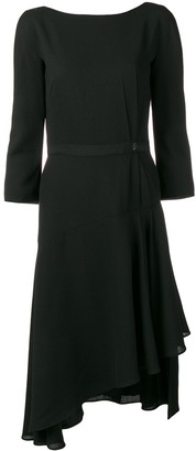 Lanvin Asymmetric Hem Dress