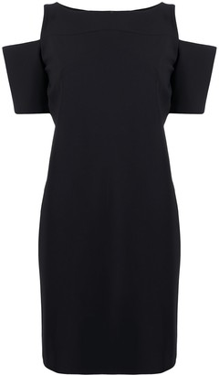 Le Petite Robe Di Chiara Boni Zhavia cold-shoulder shift dress