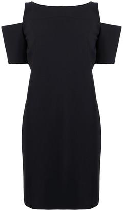Le Petite Robe Di Chiara Boni Zhavia cold-shoulder shift dress