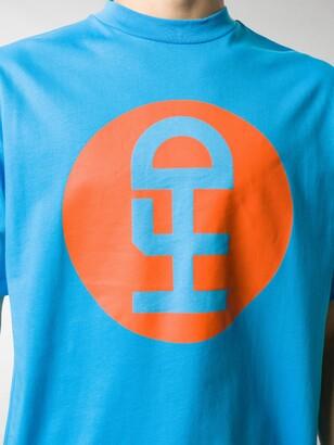 Honey Fucking Dijon logo print T-shirt