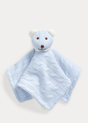 Ralph Lauren Cashmere Bear Lovey Blanket