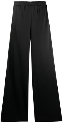 LA COLLECTION Flared Leg Elasticated Trousers