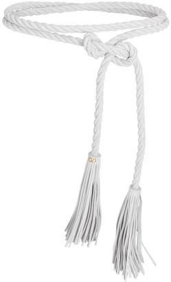 Valentino Torchon Leather Fringe Belt