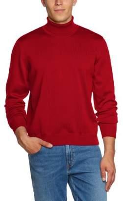 Maerz Men's 490600 Turtleneck Long Sleeve Jumper - Red