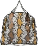 Stella McCartney python-effect Falabella tote - women - Artificial Leather/Metal (Other) - One Size
