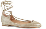 Diane von Furstenberg Paris Lace-Up Flat
