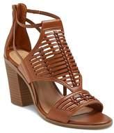 Merona Women's Kerina Leather Braided Heeled Huarache Sandals