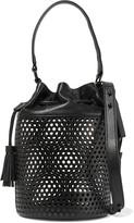 Loeffler Randall Industry perforated leather shoulder bag