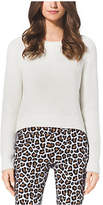 Michael Kors Cropped Crewneck Sweater