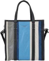 Balenciaga Striped Bazar Shopper Bag